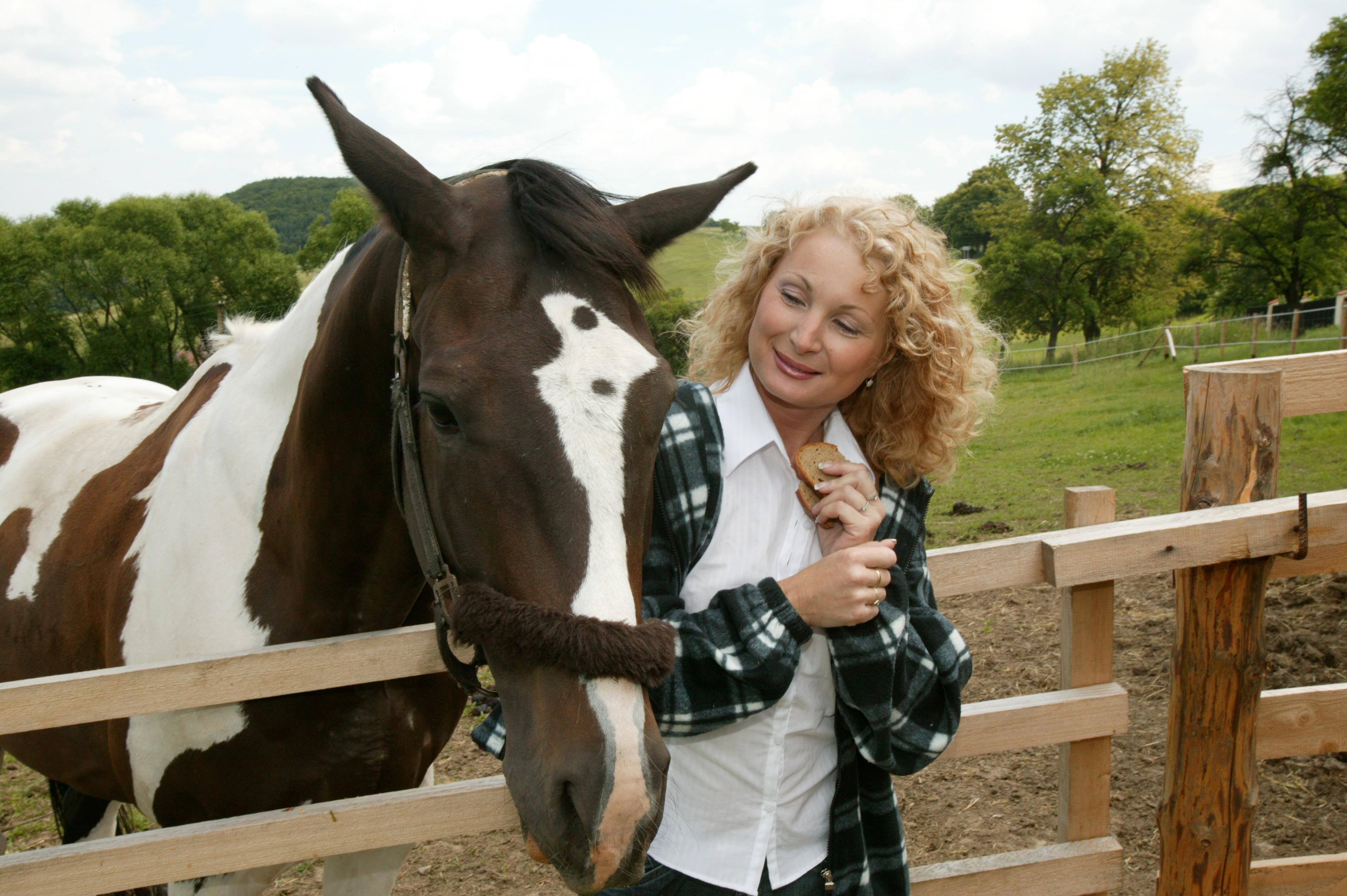 Světlana Nálepková - celebrity jezdeckého sportu